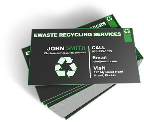 Stunning ewaste business cards coming soon ewaste business card package template 1 colourmoves