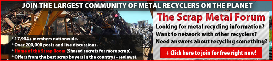 Become a member of the Scrap Metal Forum